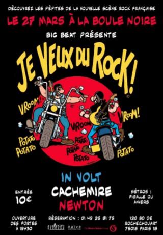 Je veux du rock